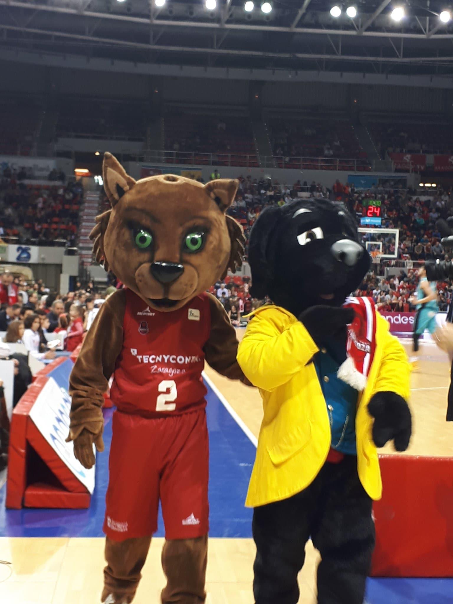 Mascota Publicitaria y deportiva Kangaroo
