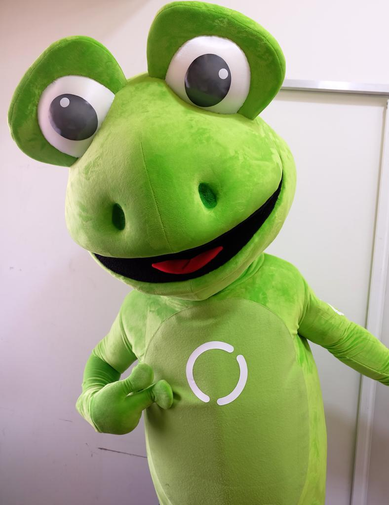 Mascota Publicitaria OSPI de Hospiten