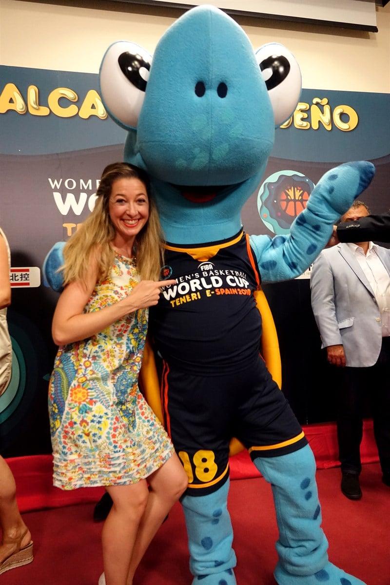 Tina_Mascota Publicitaria_Mundial Baloncesto Femenino 2018
