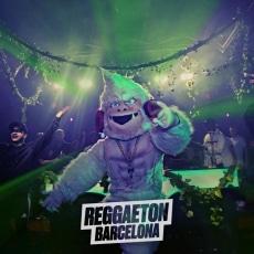 Mascota Publicitaria Mambito Reggaeton Barcelona