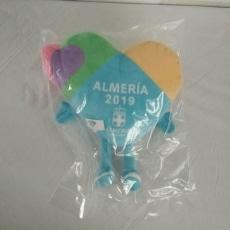 Peluches Publicitarios Corazón Almería 2019