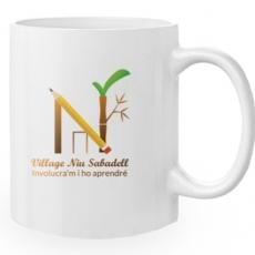 Articulo Promocional Personalizado. Taza de cerámica con logotipo